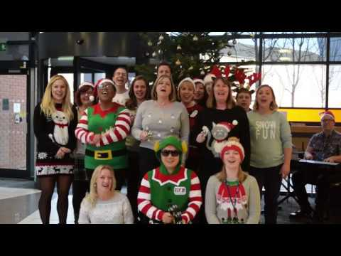 Merry Christmas from all at the University of Derby Online Learning