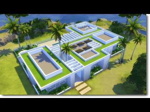 ECO GREEN   The Sims 4 Speed Build
