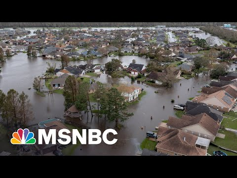 Catastrophic Damage Across Louisiana As Recovery Begins