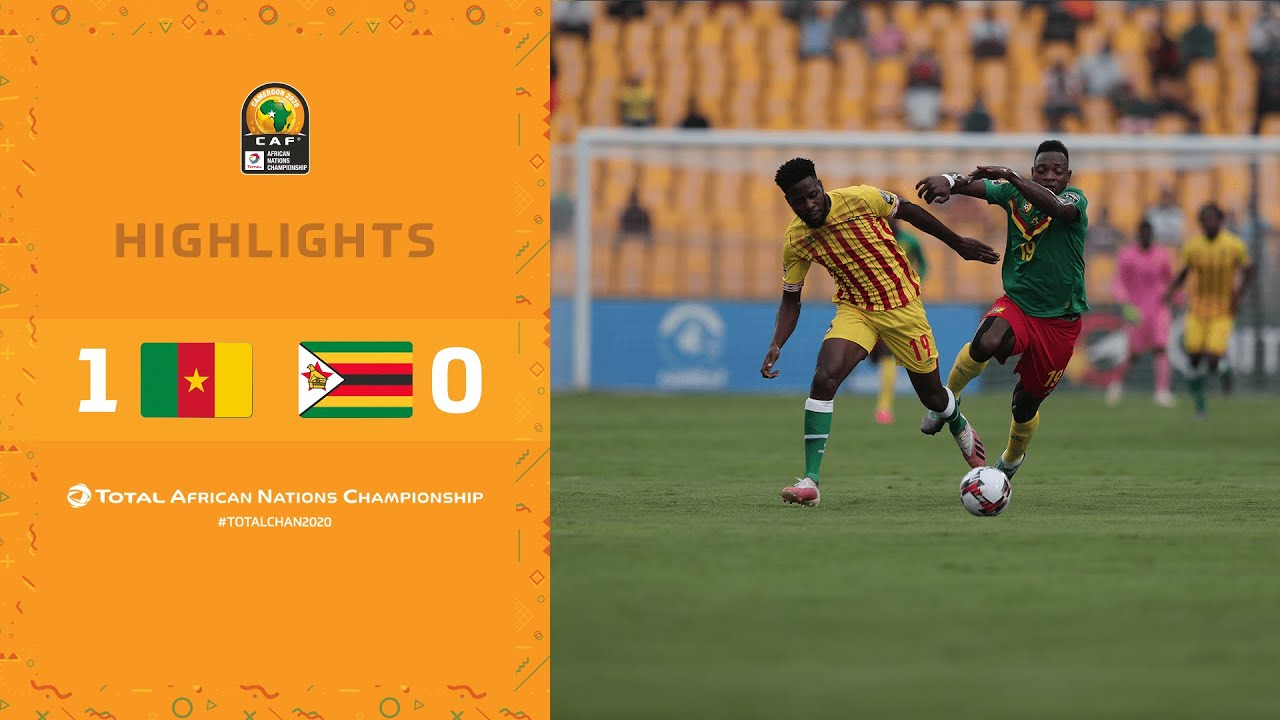 HIGHLIGHTS | Total CHAN 2020 | Round 1 - Group A: Cameroon 1-0 Zimbabwe