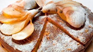 Сметанно-сливочный пирог с грушей | Теле-теле-тесто