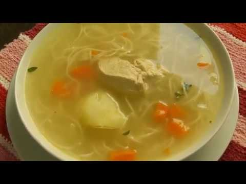Como hacer una sopa de dieta blanda