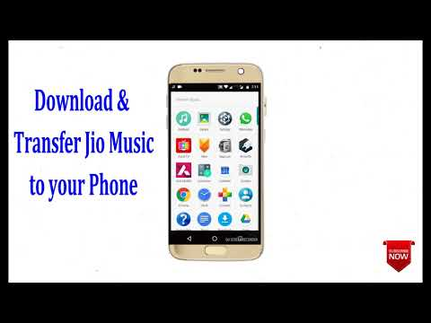 Download & transfer any song from Jio...
