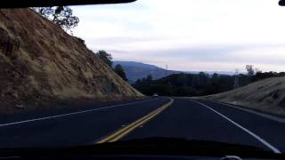 Windshield Series: CA Highway 4 Eastbound @ Calaveras County Line