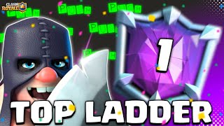 TOP LADDER HOG EXENADO PUSH - Clash Royale
