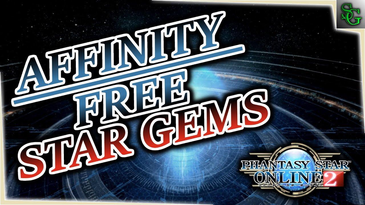 PSO2 - Affinity - Free Star Gems!