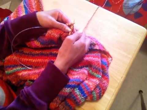 How To Decrease Knitting - SKP, SSK, K2tog, P2tog, K3tog - YouTube