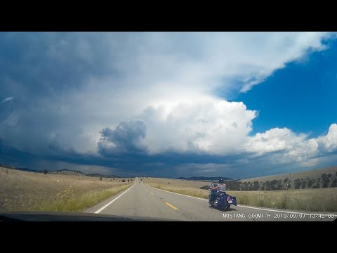 US-191 In Arizona From Clifton / Morenci To Hannagan Meadow, A Timelapse