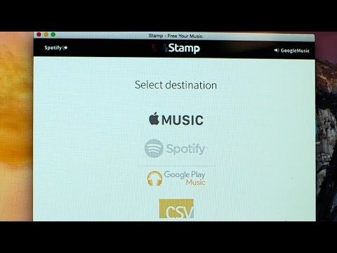 Transfer songs between streaming services (Tech Minute)