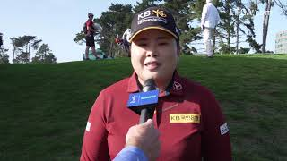 Inbee Park talks about her second round 69 at the LPGA MEDIHEAL Championship