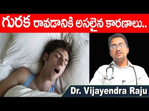 What Causes Snoring | Reasons For Snoring in Telugu | Guraka |Snore | Dr Vijayendra Raju | DoctorsTv