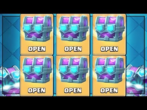 OPENING x6 BEST DRAFT CHESTS IN CLASH ROYALE! Opening The Best Chest IN THE GAME!