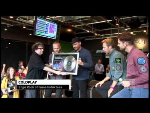 Coldplay - 102.1 the Edge Rock of Fame Induction