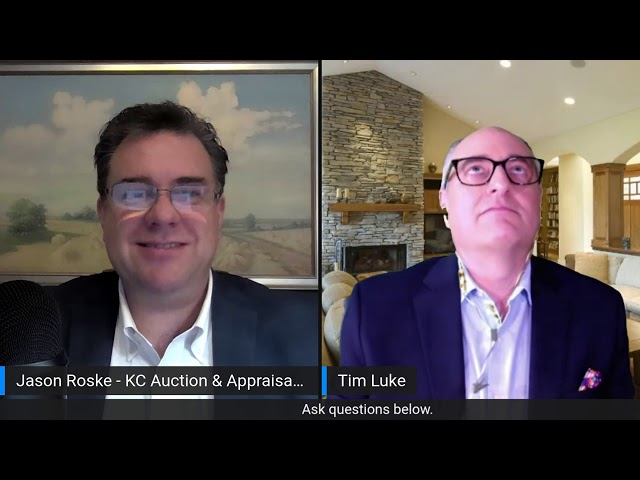 BTGWJ - Tim Luke Talks Appraisals, Auctions, and Evaluations During Covid