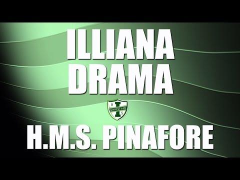 Illiana Christian High School Drama: HMS Pinafore