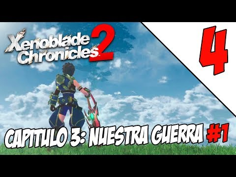 XENOBLADE CHRONICLES 2 #4 | CAPÍTULO 3 #1 | Gameplay Español | Nintendo Switch | DIRECTO 🔴