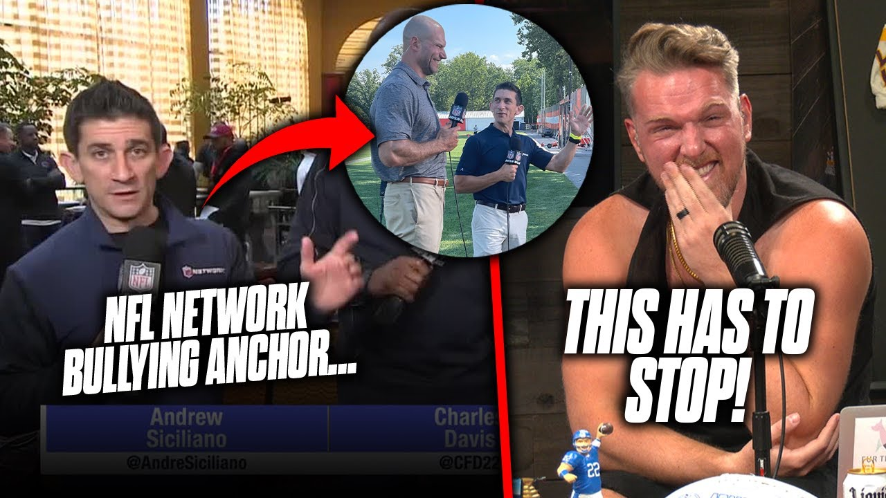 Download NFL Network Is Absolutely BULLYING One Of Their Anchors   Pat McAfee Reacts