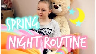 My spring night routine ☽ | Moje jarní večerní rutina