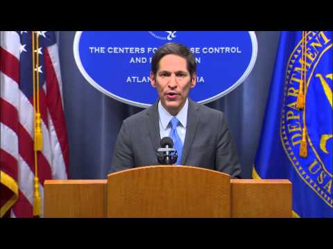 CDC Media Briefing on first Ebola case diagnosed in the United States, 10-08-2014