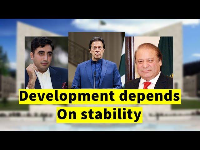 Development depends on stability | Imran Khan | Haroon Rasheed | 9 News HD