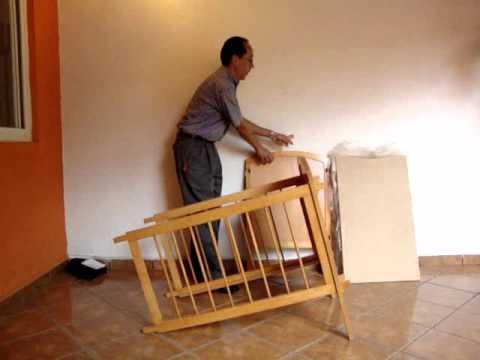hacer cuna de madera