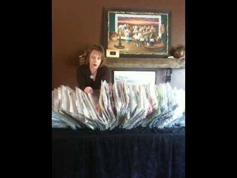 Wendy Elliott ScrapRack demo