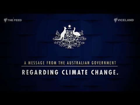 A Message From The Australian Government Regarding Climate Change - The Feed