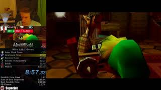The Legend of Zelda: Majora's Mask Any% Speedrun World Record (1:19:55)