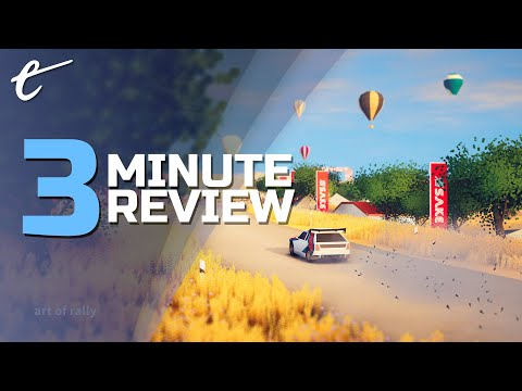 Art of Rally | Review in 3 Minutes