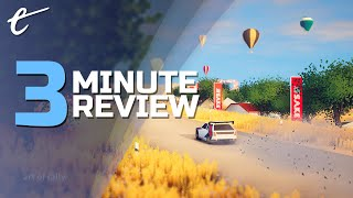 Art of Rally | Review in 3 Minutes (Video Game Video Review)