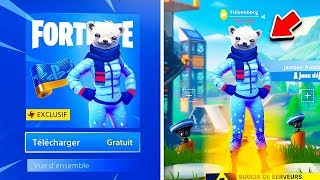 "THE NEW SKIN FREE ""PLAYSTATION PLUS"" REVEALED and DISPONIBLE on FORTNITE! 😱"