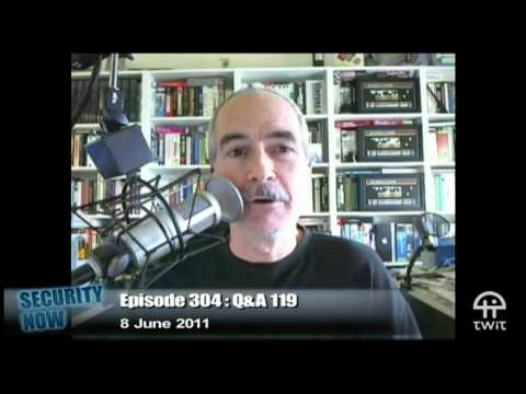 Security Now 304: Your Questions, Steve's Answers #119