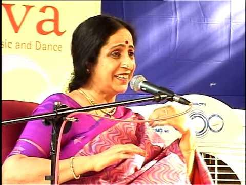 Aruna Sairam talks about kalpana swaram at Svanubhava