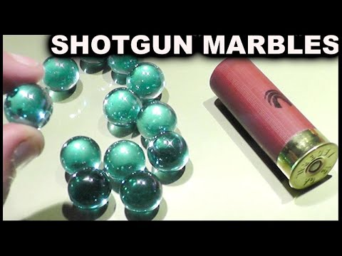Glass Marble Shotgun Rounds -  Destroying Everything