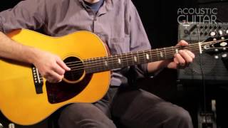 Epiphone Texan guitar review from Acoustic Guitar