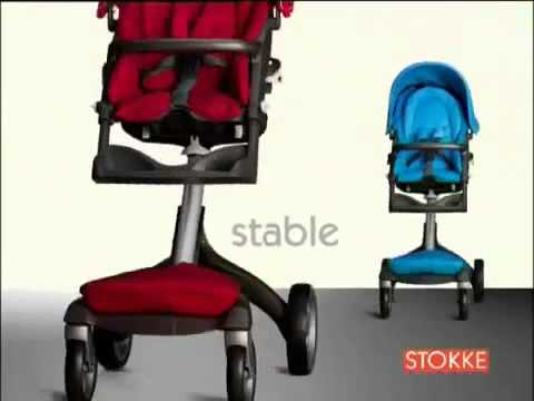 Прогулочная коляска Stokke Xplory видео обзор