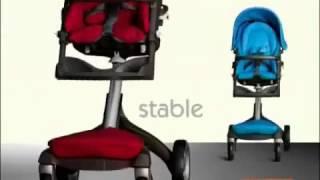 Прогулочная коляска Stokke Xplory видео обзор(Купить детскую коляску и детское автокресло вы можете на сайте: http://www.mommart.ru/ Доставка по Москве, Московской..., 2014-03-16T11:36:43.000Z)