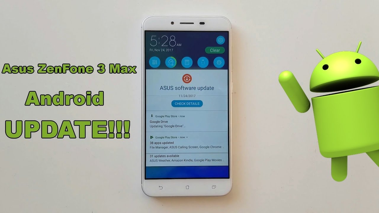 zenfone 3 max android 8