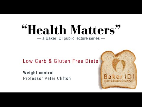 "Weight control | ""Health Matters"" Low carb and gluten free diets 