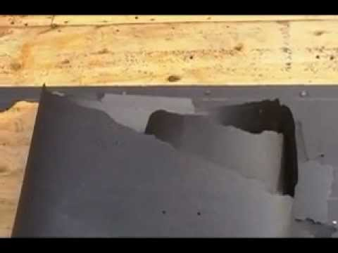 How To : Roofing   Removing Tar Paper Without The Mess