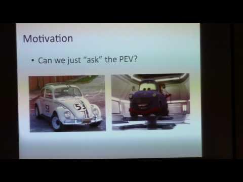 Plug-in Electric Vehicle Fingerprinting - Rebekah Houser