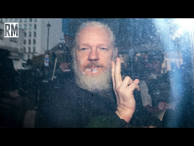 Julian Assange Is a Political Prisoner