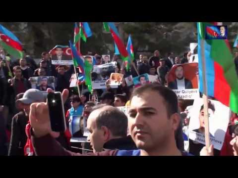 Milli Şuranın 8 aprel 2017 ci il Mitinqi - Əli Kərimli