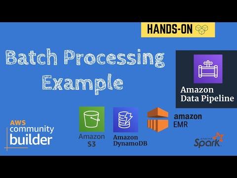 Batch Processing Example using Amazon Data Pipeline   S3 to DynamoDB using Amazon EMR   Tech Primers