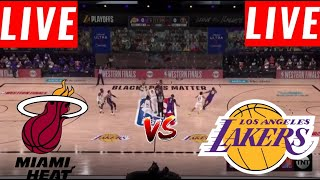 [LIVE] Los Angeles Lakers vs Miami Heat FULL GAME | Game 1 NBA Finals | NBA Playoff 2020