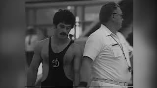 Вольная Борьба на  Олимпиаде 80 Клип Черно-белый