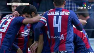 Golazo de Ferreiro (1-0) SD Huesca vs Rayo Vallecano