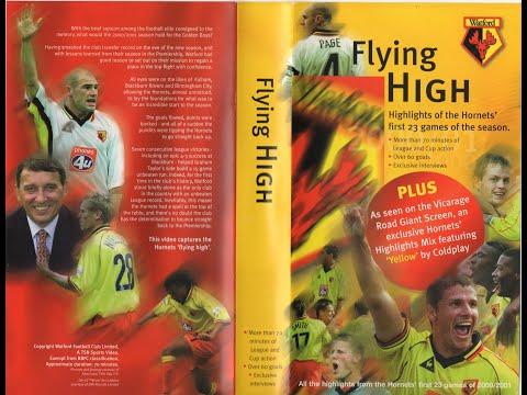 65ecd0ad0f6 Watford Football Club Season Review 2000-01 (1 of 2) - YouTube