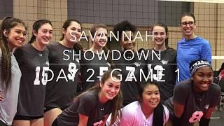 Savannah Showdown Day 2 Game 1 Alysha15 Volleyball