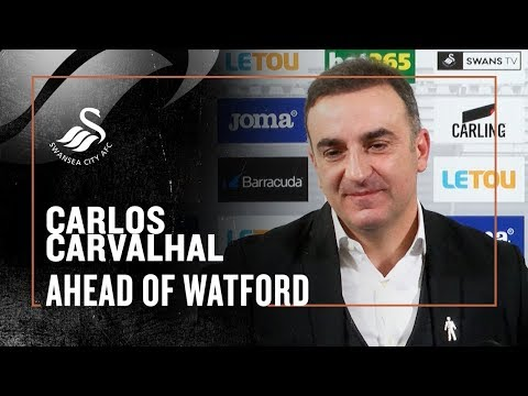 Carlos Carvalhal's First press conference for Swansea City